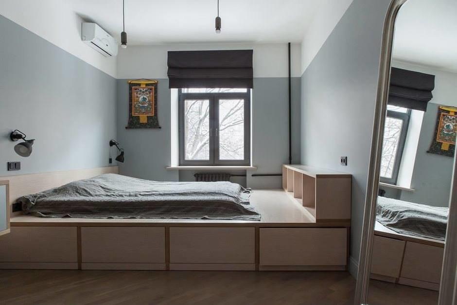 Подиум кровать картинки